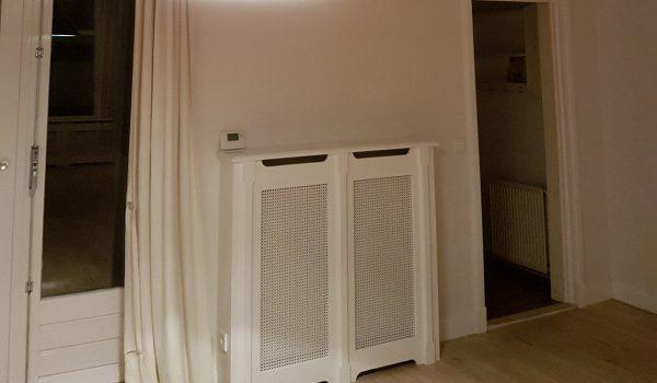 Traprenovatie en radiatoromtimmering Hilversum